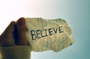 believe note
