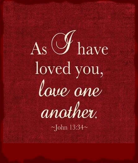 John 13 34