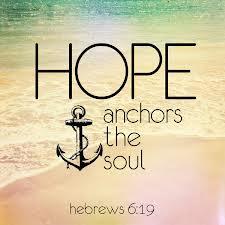 hope anchors soul