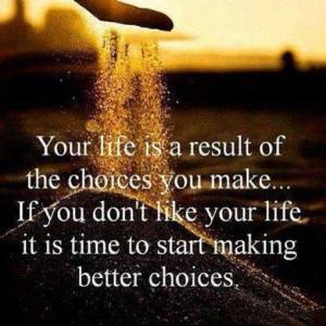 make better choices