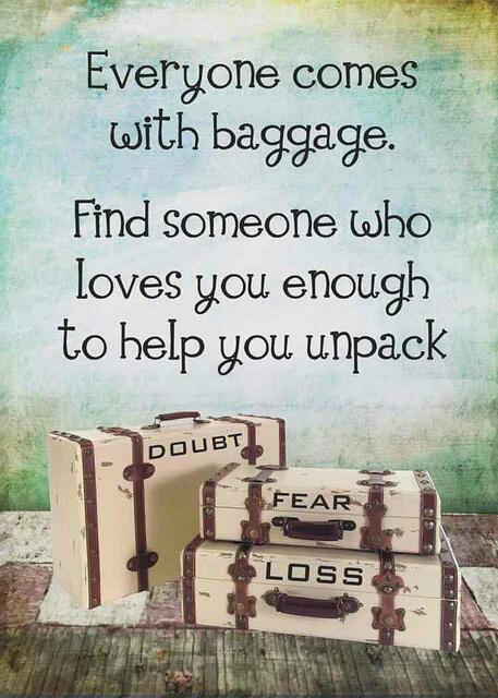 How to Unpack Your Baggage that Weighs You Down