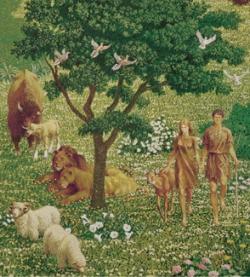 Adam, Eve, Garden