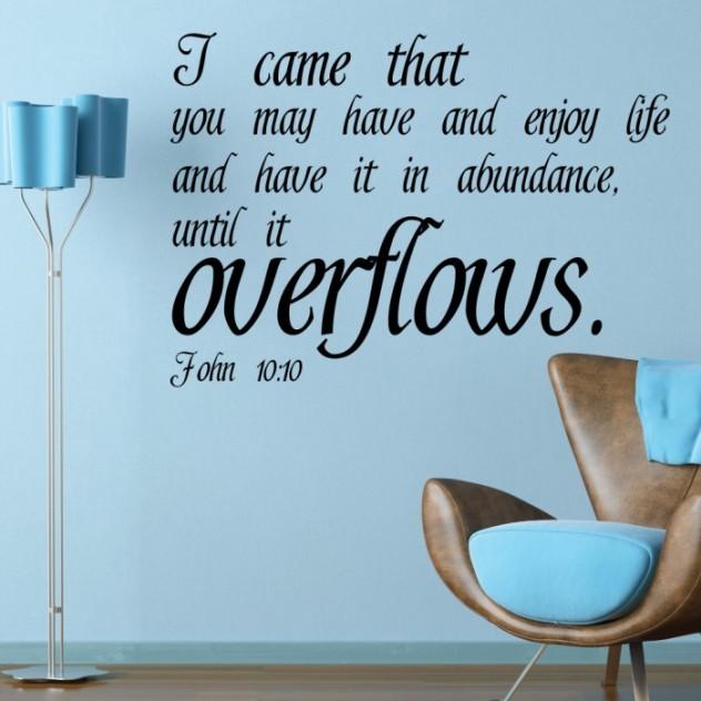 abundant life verse